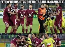 Enlace a Eto'o vs Rondón