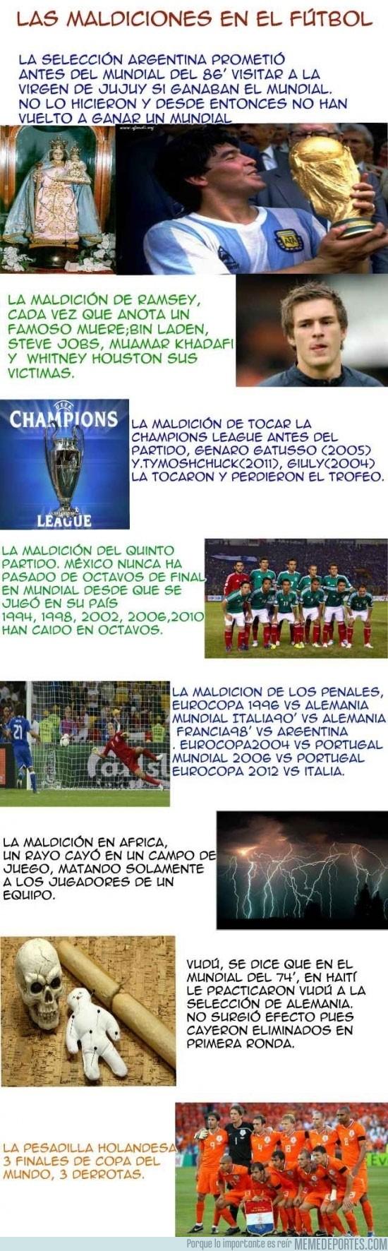 128524 - Maldiciones en el fútbol