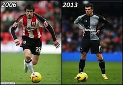 Enlace a El cambio de Bale en 7 años