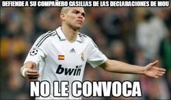 Enlace a Defiende a su compañero Casillas de las declaraciones de Mou