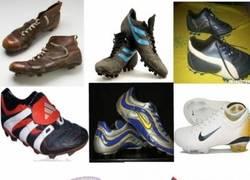 Enlace a La evolución de las botas de fútbol