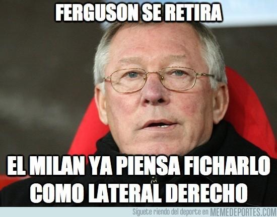128986 - Ferguson se retira