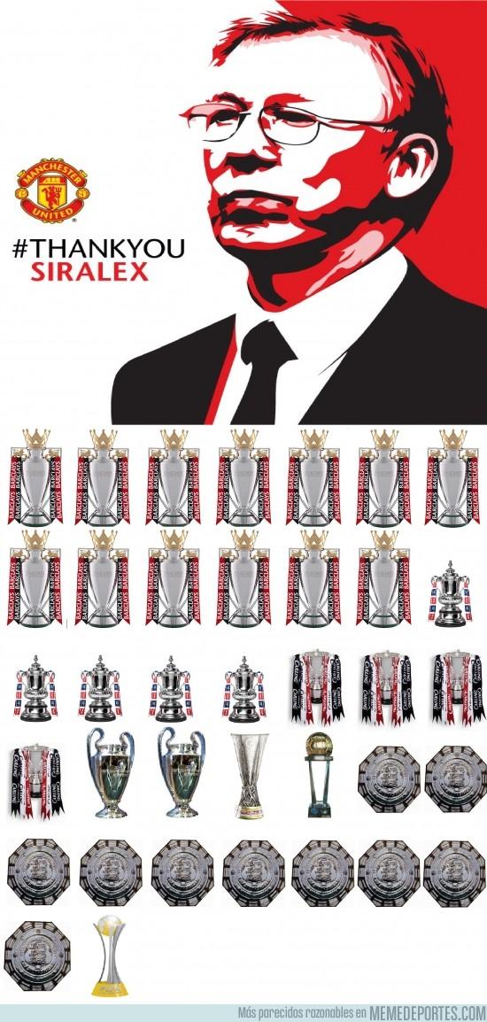 129114 - Sir Alex Ferguson, descripción copera