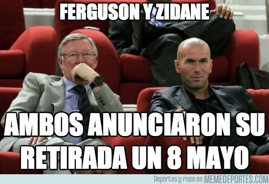 129138 - Ferguson y Zidane