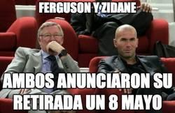 Enlace a Ferguson y Zidane