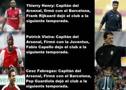 Enlace a Arsenal y sus maldiciones