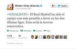 Enlace a El Real Madrid, el equipo con más penaltis a favor