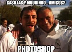 Enlace a Casillas y Mourinho... ¿amigos?