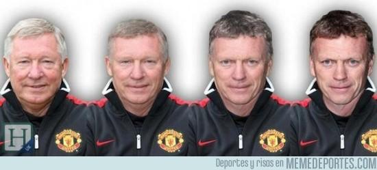 129694 - El paso de Alex Ferguson a David Moyes en el Manchester United