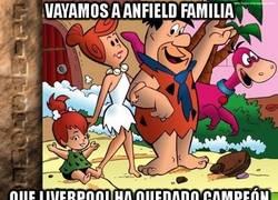 Enlace a Vayamos a Anfield, familia