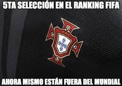Enlace a 5ta selección en el ranking FIFA