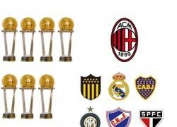 Enlace a Equipos y sus respectivas intercontinentales/mundial de clubes