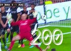 Enlace a GIF: Gol número 200 de Cristiano Ronaldo con el Real Madrid