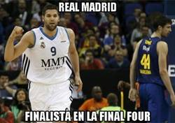 Enlace a Real Madrid finalista de la Final Four