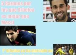 Enlace a 5 razones por las que arbeloa es mejor que Messi