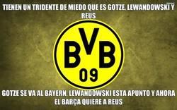 Enlace a El tridente del Dortmund esta en peligro de extinción