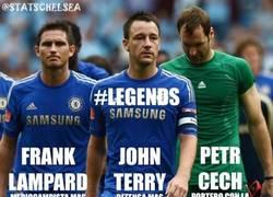 Enlace a El Chelsea haciendo historia en Inglaterra.