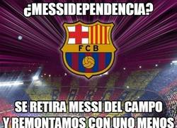 Enlace a ¿Messidependencia?