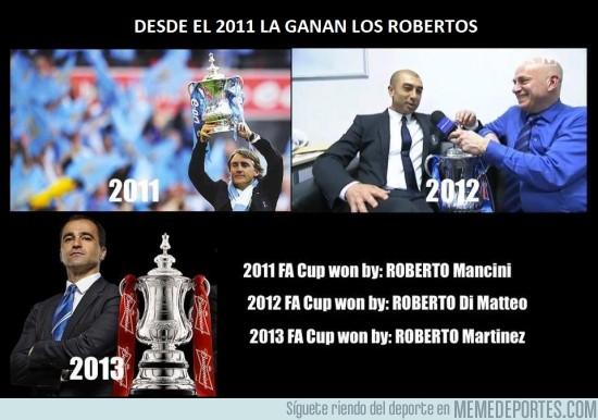 131499 - La FA Cup es cosa de Robertos