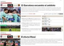 Enlace a Últimamente el Barça y el Atlético se han abonado al 1-2 en el Calderón