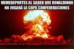 Enlace a Scolari castiga a Kaká y Ronaldinho sin Copa Confederaciones