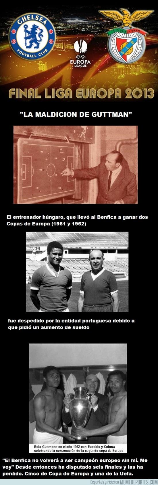132284 - El Benfica, contra la larga maldición de Guttmann