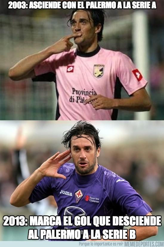 132305 - 2003: Asciende con el Palermo a la serie A