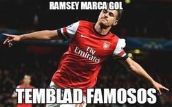 Enlace a Ramsey marca gol