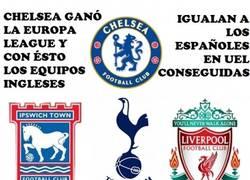 Enlace a Inglaterra y España ahora empatadas en Europa Leagues