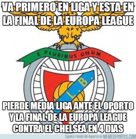 132840 - Va primero en liga y está en la final de la Europa League