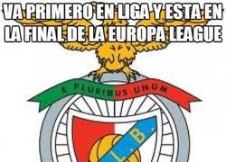 Enlace a Va primero en liga y está en la final de la Europa League