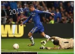Enlace a Fernando Torres, el creador del saltito de la victoria