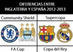 Enlace a Diferencias entre Inglaterra y España
