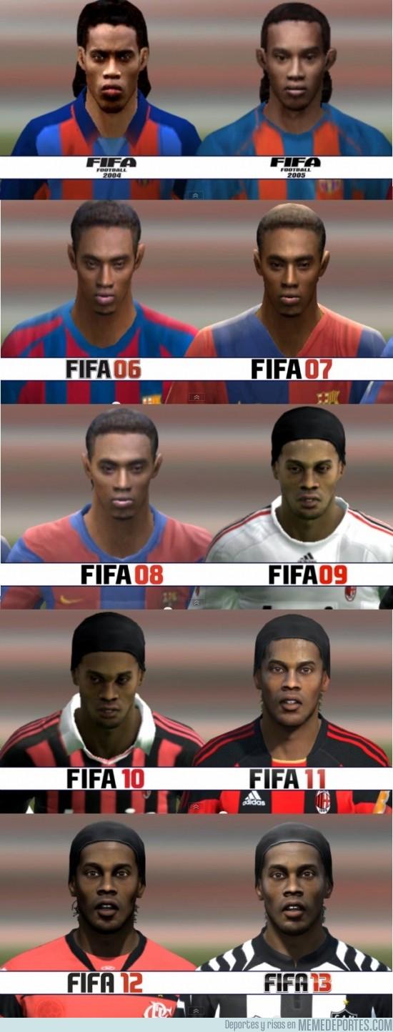 133754 - Ronaldinho FIFA04 - FIFA13