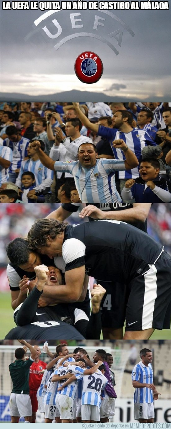 133779 - La UEFA le quita un año de castigo al Málaga