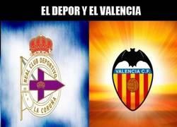 Enlace a Depor y Valencia, rara avis