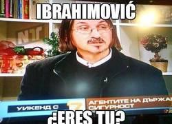 Enlace a Ibrahimović, ¿eres tú?