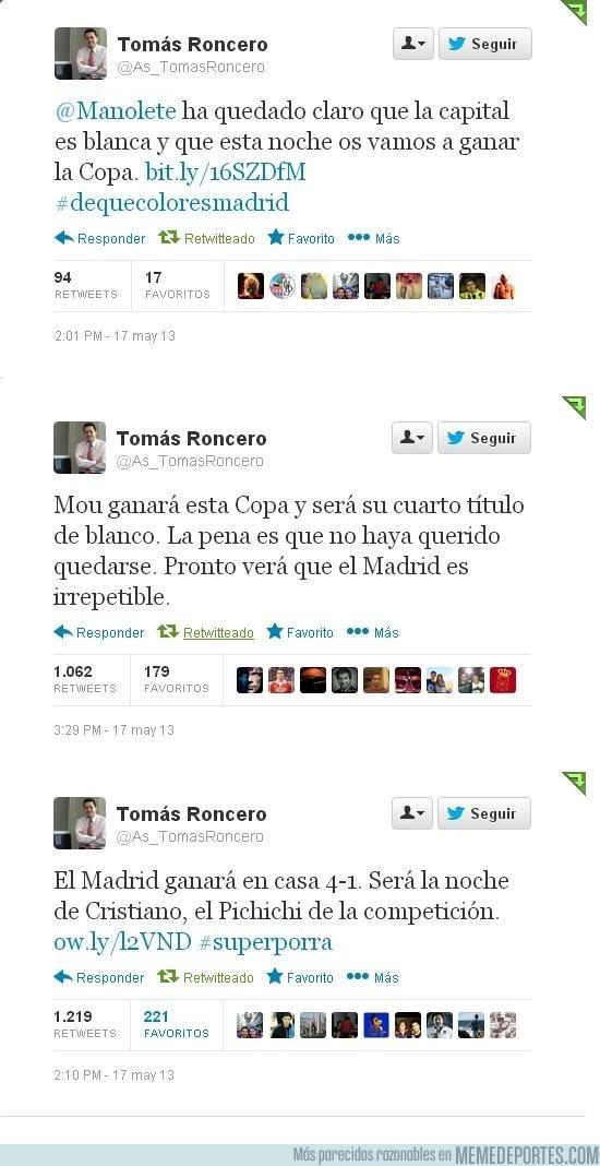 134232 - A Tomás Roncero le deberían quitar ya el Twitter