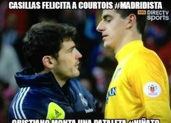 Enlace a Casillas felicita a Courtois #Madridista