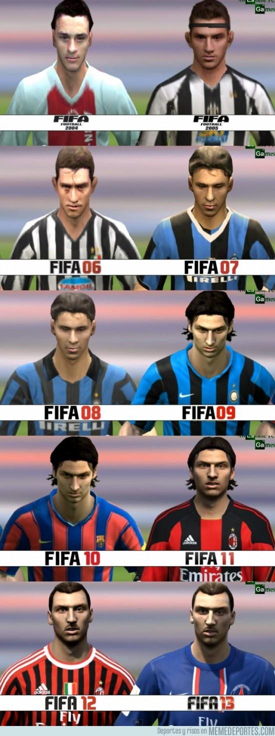 134517 - Ibrahimovic FIFA04 - FIFA13