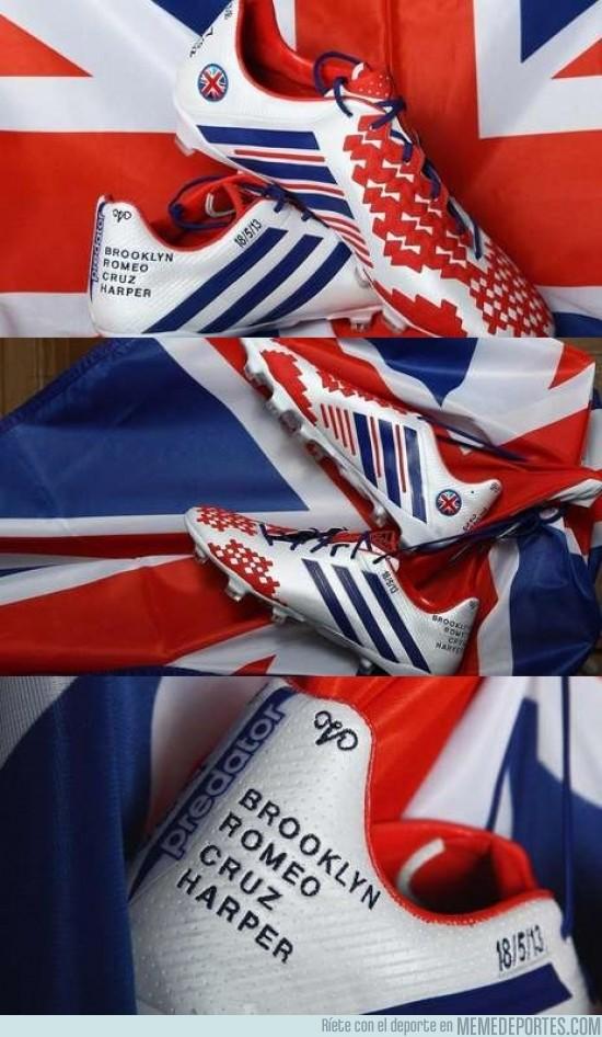 134932 - Las botas de la despedida de Beckham