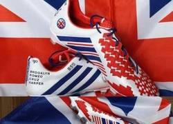Enlace a Las botas de la despedida de Beckham