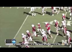 Enlace a VÍDEO: El 'touchdown' del niño que sobrevivió al cáncer