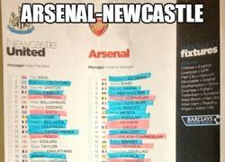 Enlace a Arsenal-Newcastle