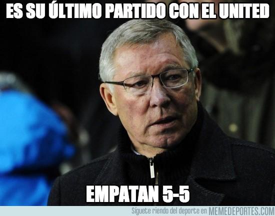 135439 - Es su último partido con el United