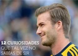 Enlace a 12 Curiosidades que tal vez no sabías de David Beckham