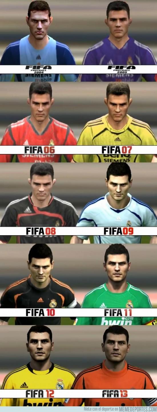 135868 - Iker Casillas de Fifa 04 a Fifa 13, ¡felices 32 años!