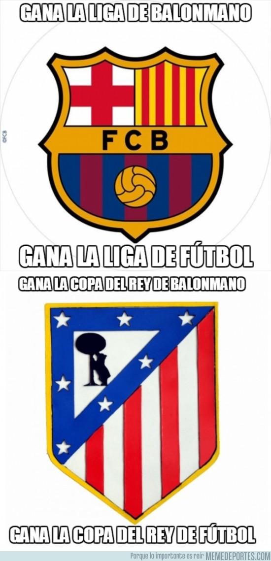 135895 - FC Barcelona y Atlético de Madrid, parecidos razonables