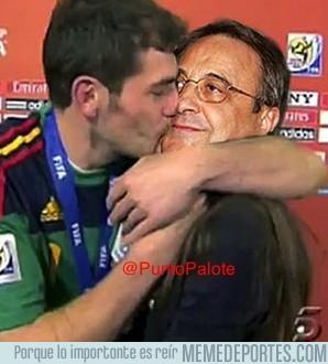 136184 - Casillas cuando se entera de la destitución de Mourinho por @PuntoPalote.