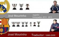 Enlace a Mourinho, dedícate mejor a ser traductor